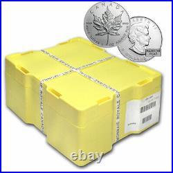 1 oz Silver Maple Leaf BU(Random) Monster Box of 500 Coins