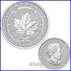 2015 Canada Fine Silver Maple Leaf Fractional Set