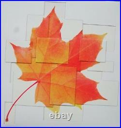2016 Canada Pure Silver Maple Leaf Quartet set of 4 Square Coins