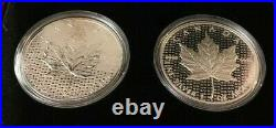 2018 Canada Silver Maple Leaf Proof/Reverse Proof Set