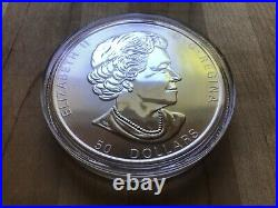 2019 10 oz. $50 Canada Maple Leaf SILVER. 9999 coin ON SALE