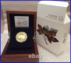 2019 Iconic Maple Leaves Master $20 Scallop-edged Pure Silver Proof Coin Canada