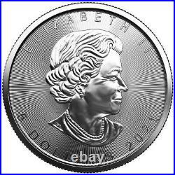 2021 Canada 1oz Maple Leaf Silver Coin x Lot of 25