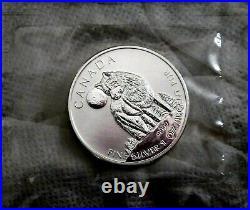 Canada 2011 Silver 9999 $5 Maple Leaf 1 Oz. Woolf x 10 Sealed