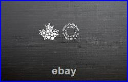 Canada 2017 Maple Leaf Pure Silver 4-Coin Fractional Set Reverse Proofs