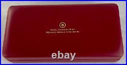 Canada Maple Leaf 2014 Fractional Set Fine Silver Silber 1-1/20 Unze Oz Pp Ovp