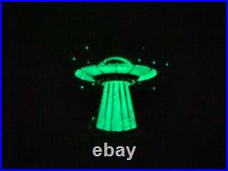 Canada Maple Leaf1 Oz Silver 2018 Alien And Ufo Glow In The Dark 5$ Silver Coin