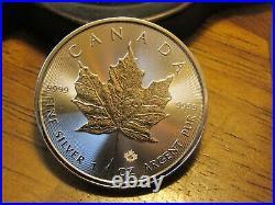 Canadian Silver Coin Original Roll 25 oz (Maple Leaf) 25 coins. 9999 silver