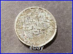 Jigsaw Puzzle Piece Coin Cut-Out 2013.999 1 oz Silver Canada Maple Leaf Z1416