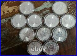 Maple Leaf 2021 1 OZ Unze Ounce Once Silber Silver Argent Kanada Canada