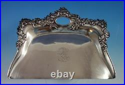 Shreve Sterling Silver Crumb Tray with Maples Leaves / Seed Pods (#2095)